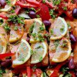 Verdens beste fisk med grønnsaker!